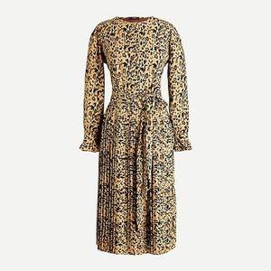 J. CREW PLEATED DRESS